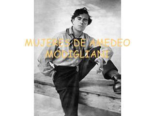 MUJERES DE AMEDEO MODIGLIANI