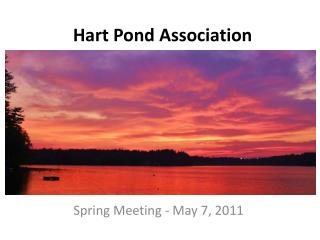 Hart Pond Association