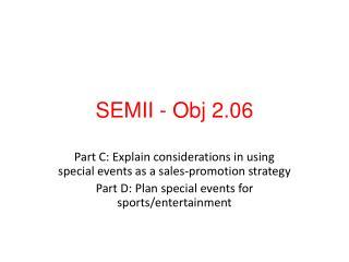 SEMII -  Obj  2.06