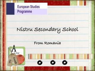 Nistru  Secondary School