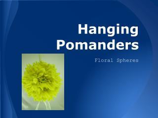 Hanging Pomanders