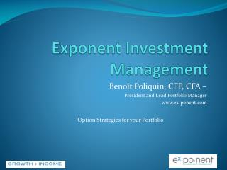 Exponent Investment Management