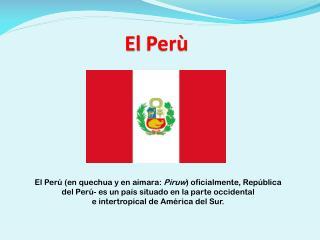El  Perù