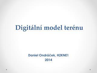 Digitální model terénu
