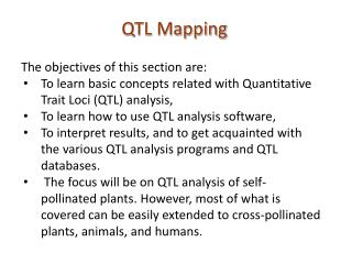QTL Mapping
