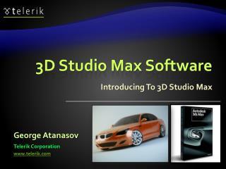 3D Studio Max Software