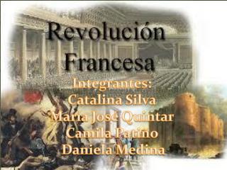Integrantes:  Catalina Silva  María José Quintar  Camila Patiño  Daniela Medina