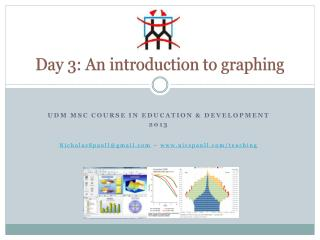 Day 3:  An  introduction to graphing