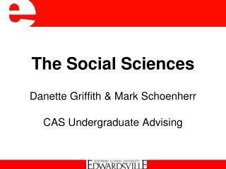 The Social Sciences