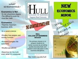 HULL  COLLEGE OF BUSSINESS  MISSION  Our primary mission is to prepare students for
