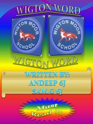 WIGTON WORD