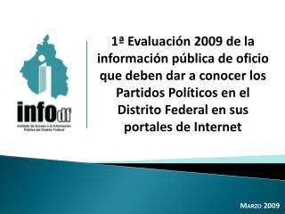 Marzo 2009