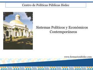 Centro de Políticas Públicas Ifedec