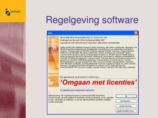 Regelgeving software