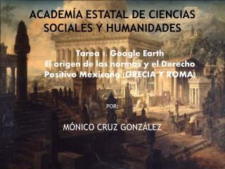 ACADEMÍA ESTATAL DE CIENCIAS SOCIALES Y HUMANIDADES