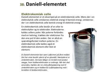 38 1  Daniell-elementet