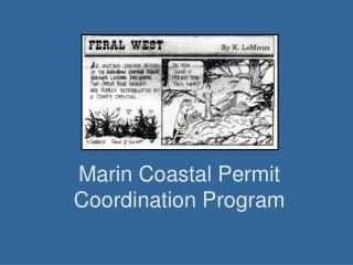 Marin Coastal Permit Coordination Program