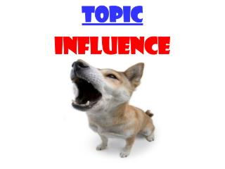 TOPIC INFLUENCE