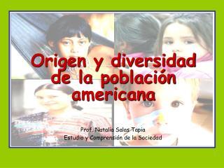 Origen y diversidad de la poblaci n americana