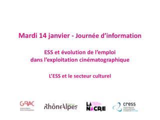 Périmètre  culturel dans l'économie sociale et  solidaire en Rhône-Alpes
