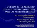 Salvador Ram rez Contreras Director de Negocios y Desarrollo Institucional Fundaci n Solidaridad Mexicano Americana