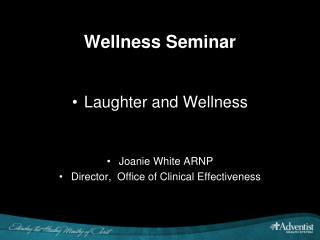 Wellness Seminar