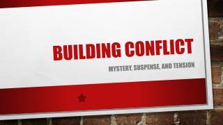 Building conflict