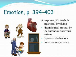 Emotion, p. 394-403