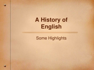 English Borrowings in the Russian Language