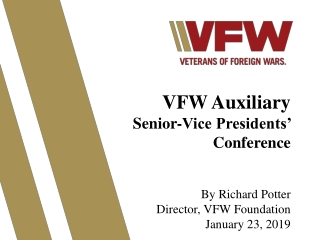 SCOUTING - A VFW  PARTNERSHIP