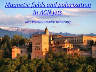 Magnetic fields and polarization  in  AGN jets . John Wardle (Brandeis University)