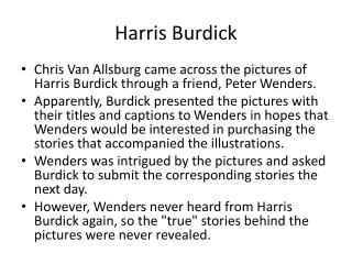 Harris Burdick