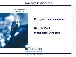 Payments in Americas