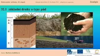 32.1  základní druhy a typy půd