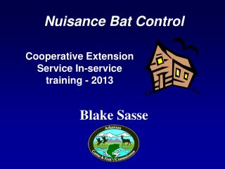 Cooperative Extension Service In-service training - 2013