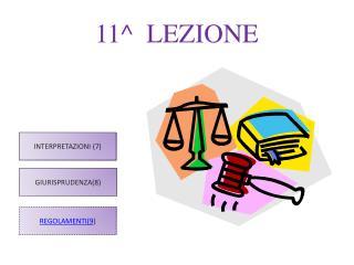 11^  LEZIONE