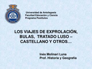 In s Molinari Luna                        Prof. Historia y Geograf a