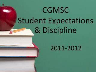 CGMSC Student Expectations & Discipline