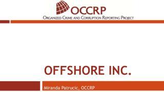 Offshore  inc.
