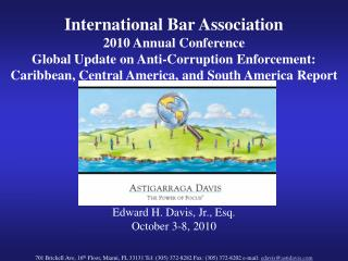 International Bar Association  2010 Annual Conference