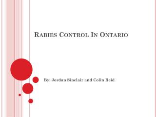 Rabies Control In Ontario