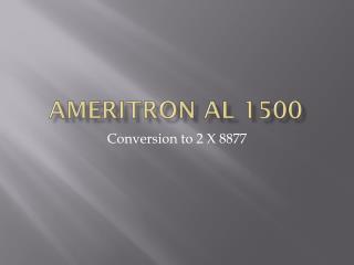Ameritron AL 1500