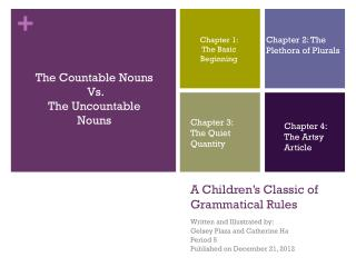 A Children's Classic of Grammatical Rules