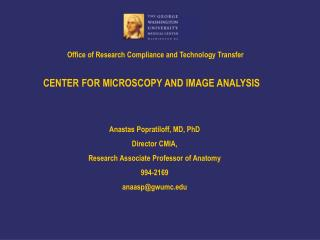 Office of Research Compliance and Technology Transfer