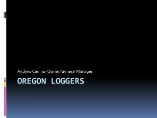 Oregon Loggers