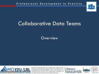 Collaborative Data Teams