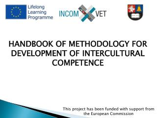 HANDBOOK OF METHODOLOGY FOR DEVELOPMENT OF INTERCULTURAL COMPETENCE