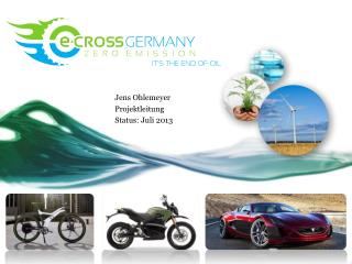 Jens Ohlemeyer Projektleitung Status: Juli 2013