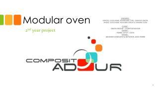 Modular oven