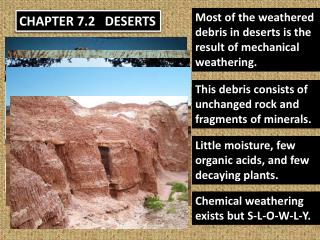 CHAPTER 7.2   DESERTS